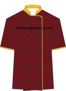 desain baju chef 1