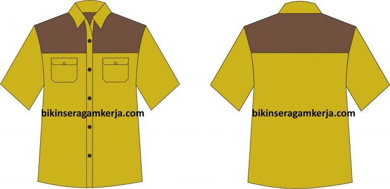 desain seragam kantor 13