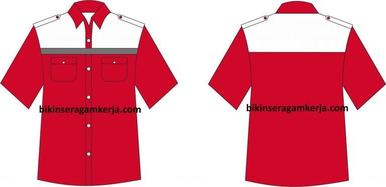 desain baju kerja 17