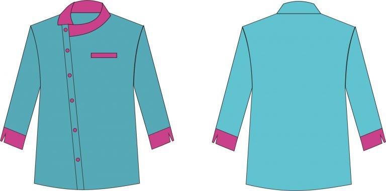 desain baju kerja 25