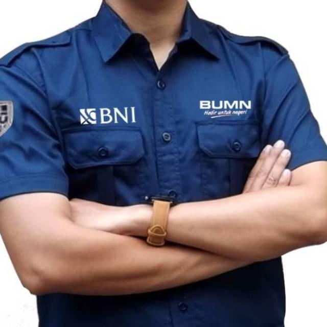 baju seragam bank 1