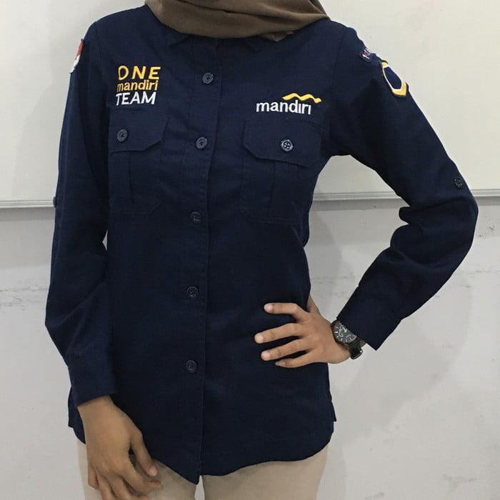 baju seragam bank 2