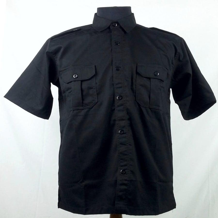 baju seragam kerja hitam