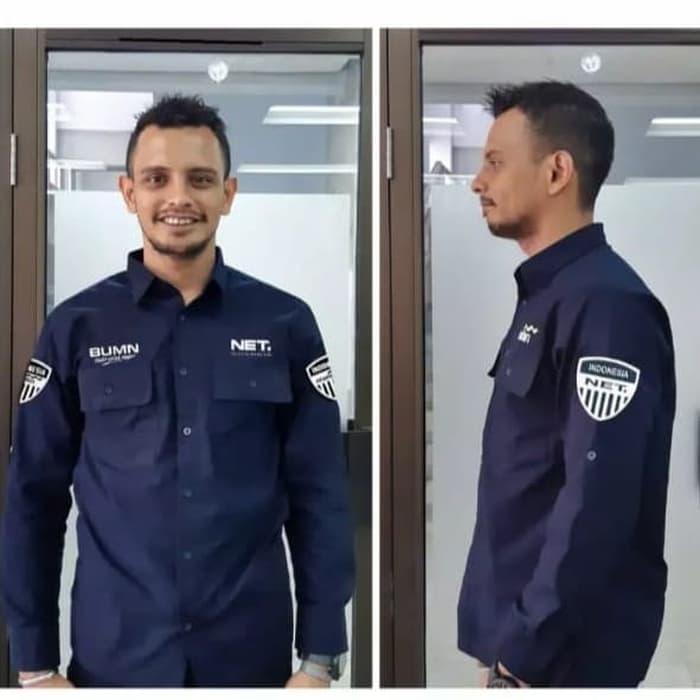 baju seragam kerja net tv
